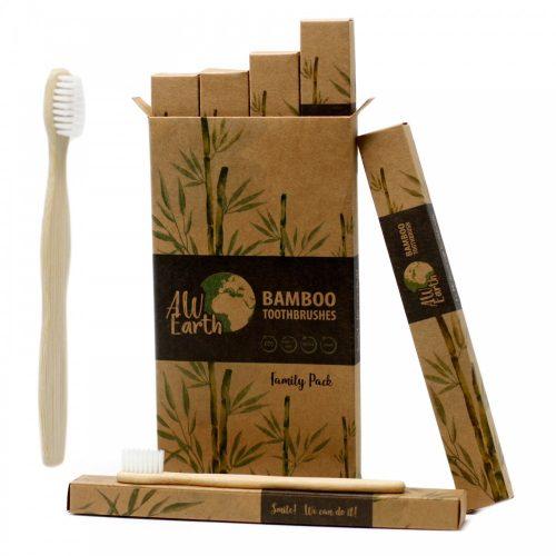 Babmusz fogkefe, családi csomagolás  (4 db)