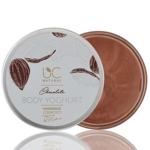 Csokoládé testápoló test joghurt