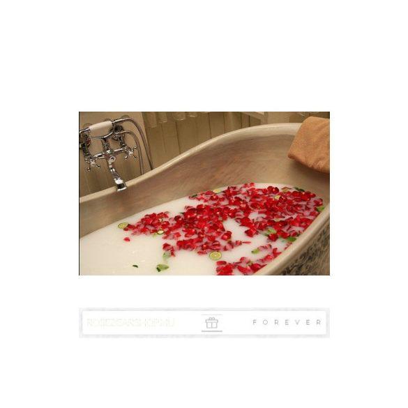 Luxus illatos vegyes méretű piros és rózsaszín szappan rózsák, 18 darab egy kör alakú nyitható díszdobozban