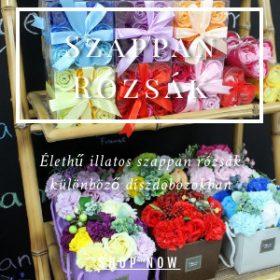 Szappan rózsák